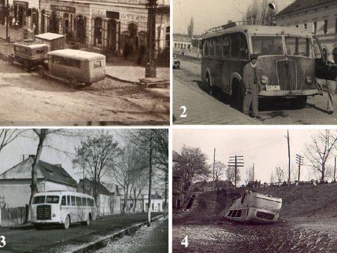 A postakocsiktól a városi buszokig