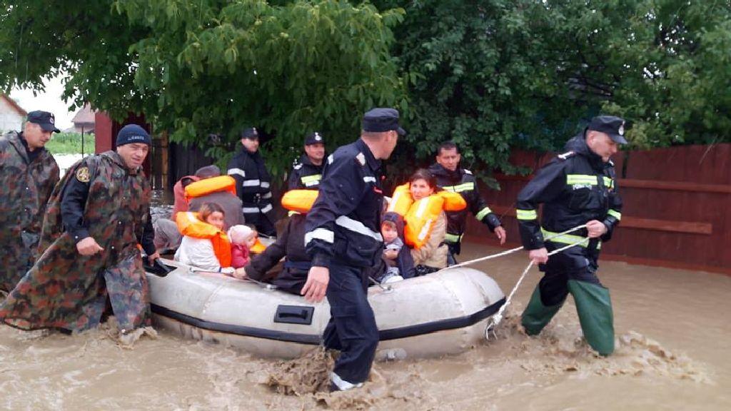Megható történet árvízkor