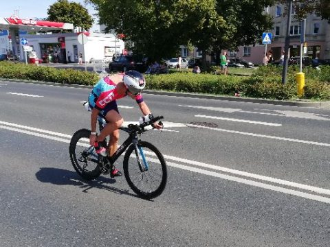 Dobogón a triatlonista