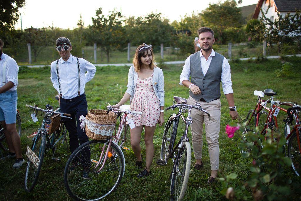 Miniben a biciklin