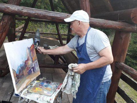 Kortárs román festők