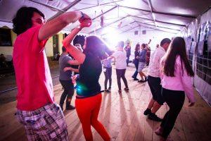 A Folkudvar táncházában is élet volt