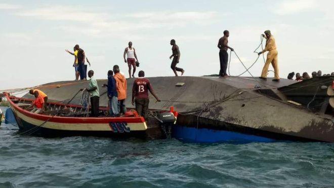 Elsüllyedt egy hajó Tanzániában