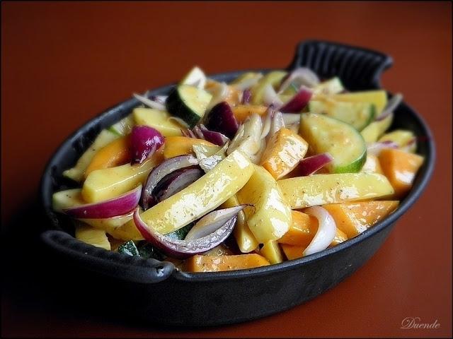 Sütőtökös tepsis krumpli