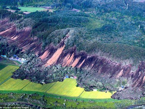 Erős fölrengés Japánban