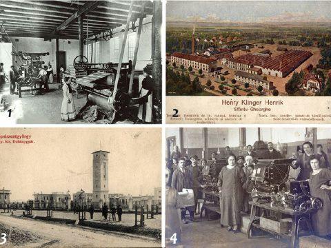 Sepsiszentgyörgy iparának képi emlékei