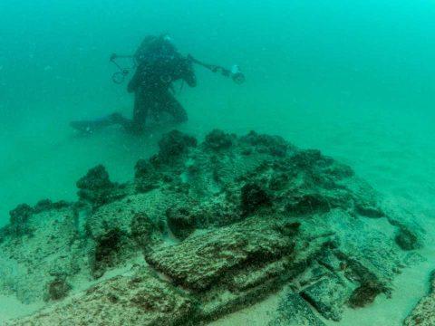 400 éve elsüllyedt hajót találtak