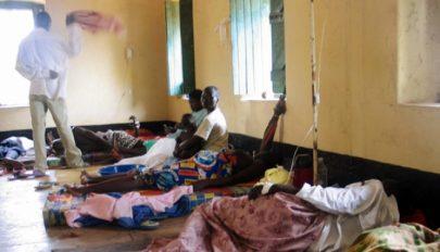 Tombol a kolera Nigériában