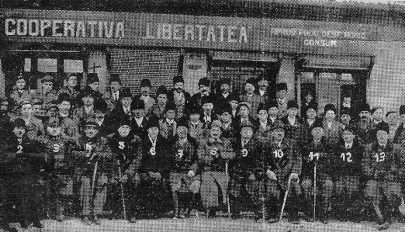 Gazdatanfolyam 1940 telén