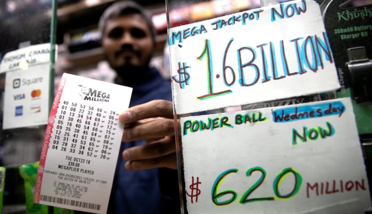 Rekord összeget nyert valaki egy amerikai lottón