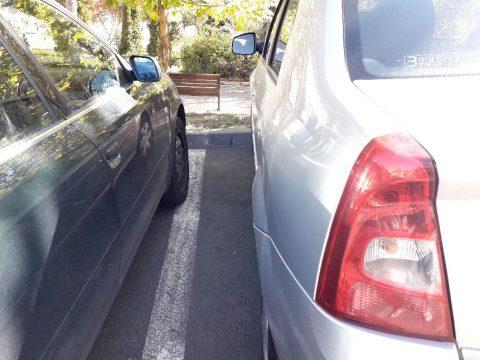 Panasz a parkolásra