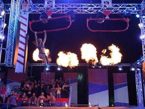 Háromszéki lány a Ninja Warrior elődöntőjében