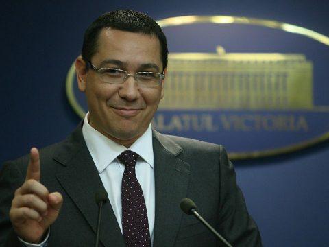Elnök lett Ponta