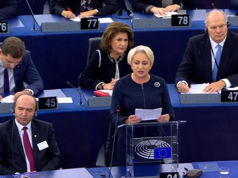 Romániáról vitáztak az Európai Parlamentben