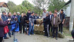 Fotó: Tóth László Első helyezett a tanács csapata lett, így ők nyerték a fődíjat, egy bárányt.