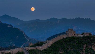Mesterséges holddal világítanának meg egy várost Kínában