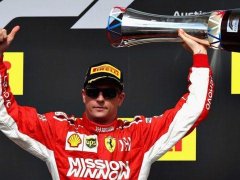Räikkönen nyert Austinban, Hamilton még nem világbajnok