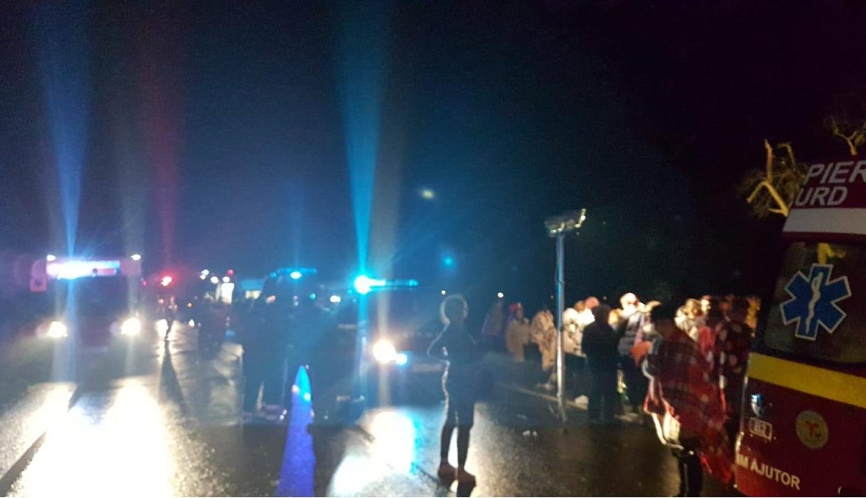 Halálos buszbaleset történt Hunyad megyében