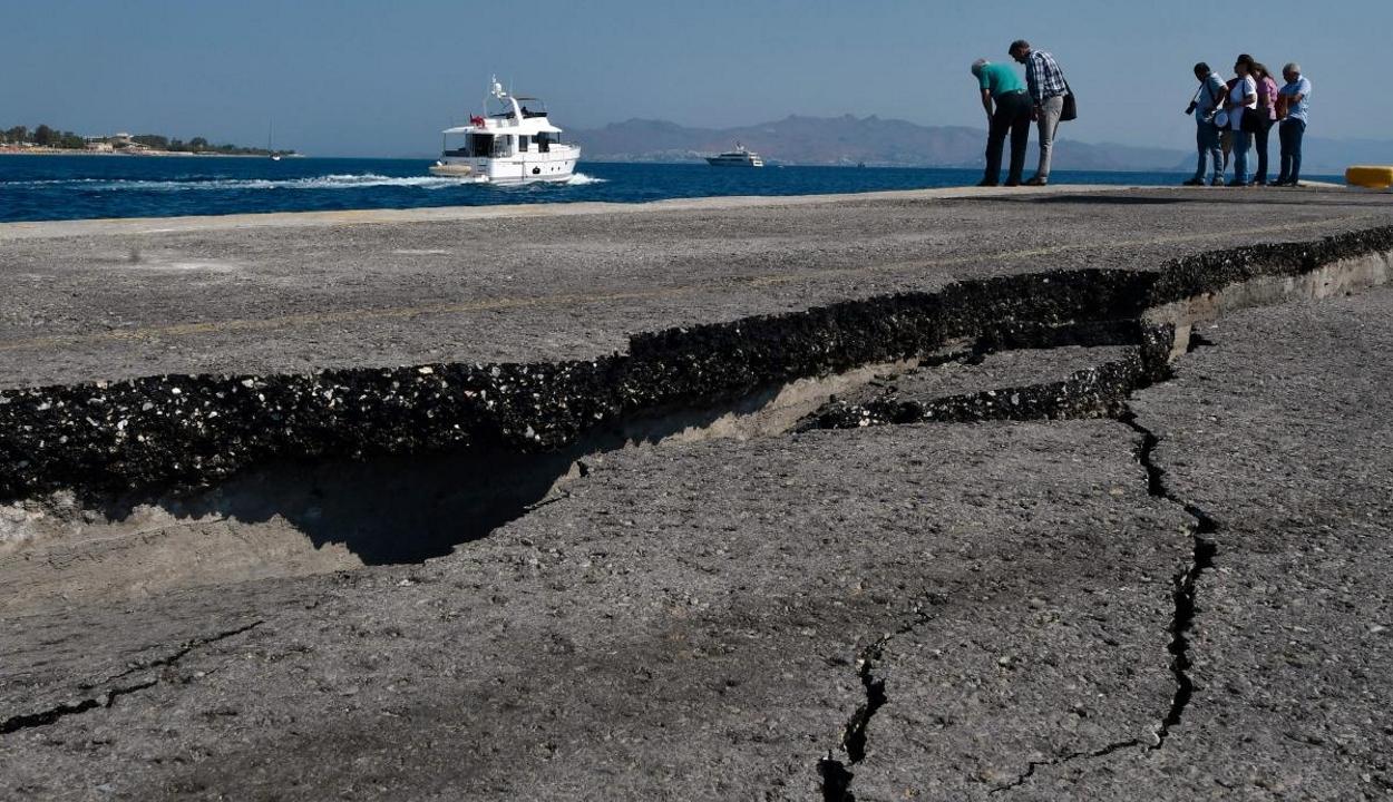 Erős földrengés rázta meg Görögországot