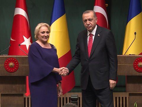 Erdogannal találkozott Dăncilă
