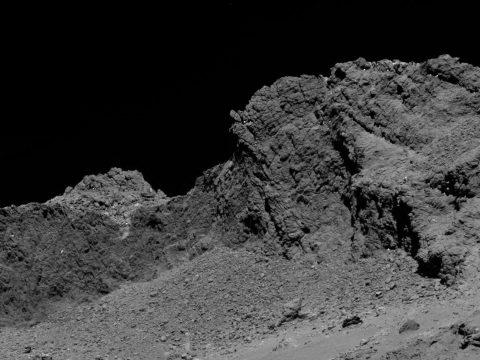 Ilyen egy üstökös felszíne