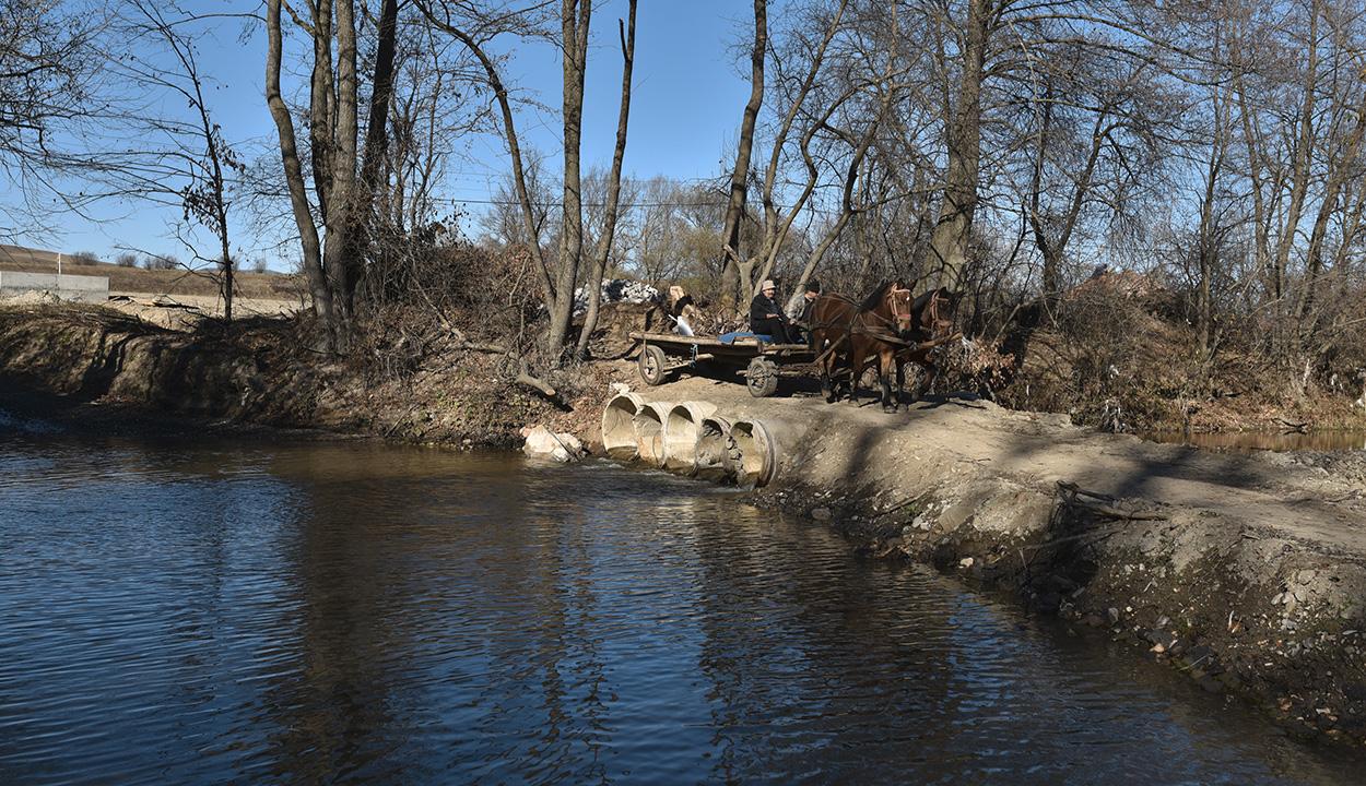Kijavítják a Kormos-patak Bardoc községi szakaszát is