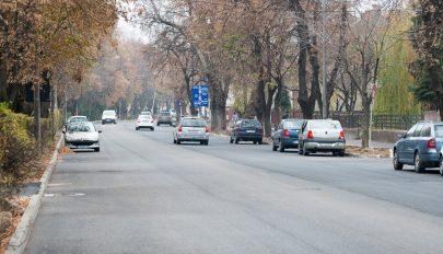 Zajlanak az útjavítási munkálatok Sepsiszentgyörgyön