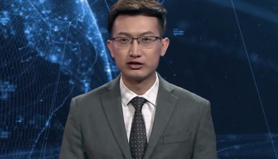 Kínában már robotok mondják a híreket