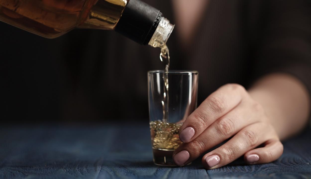 Megleckéztették az alkoholistát