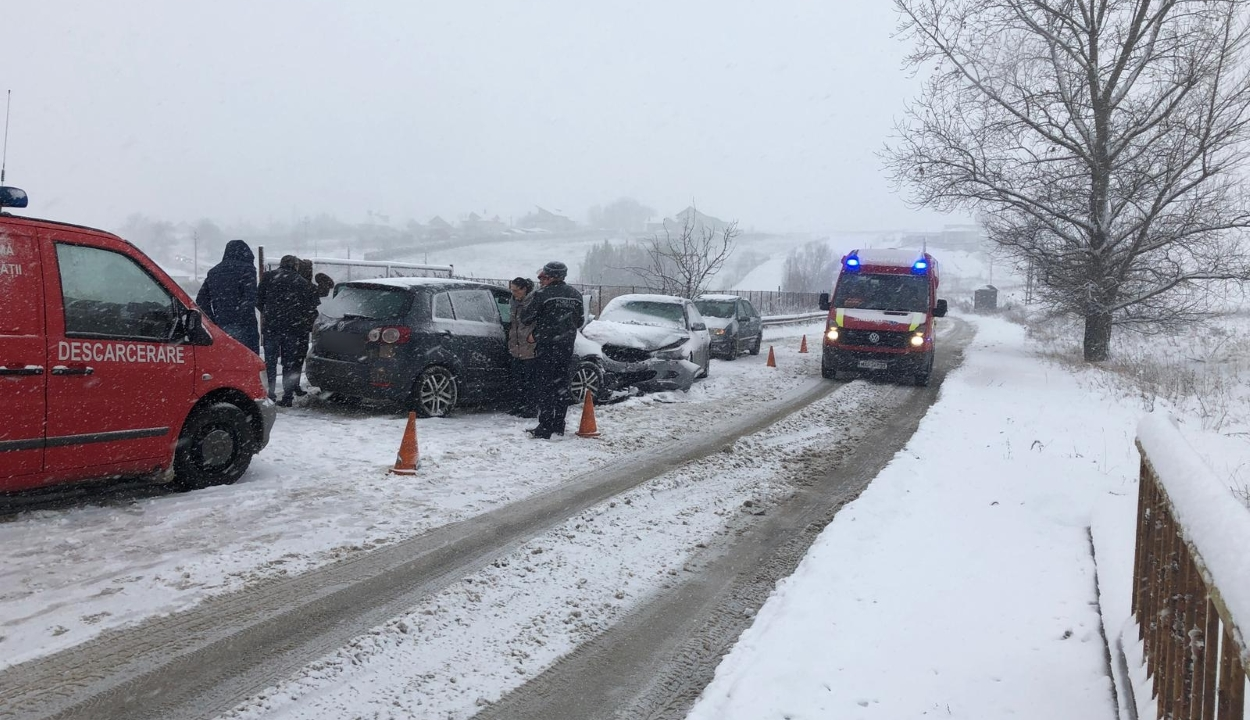 Kovászna megyében is szükség volt a katonai tűzoltók közbelépésére a havazás miatt
