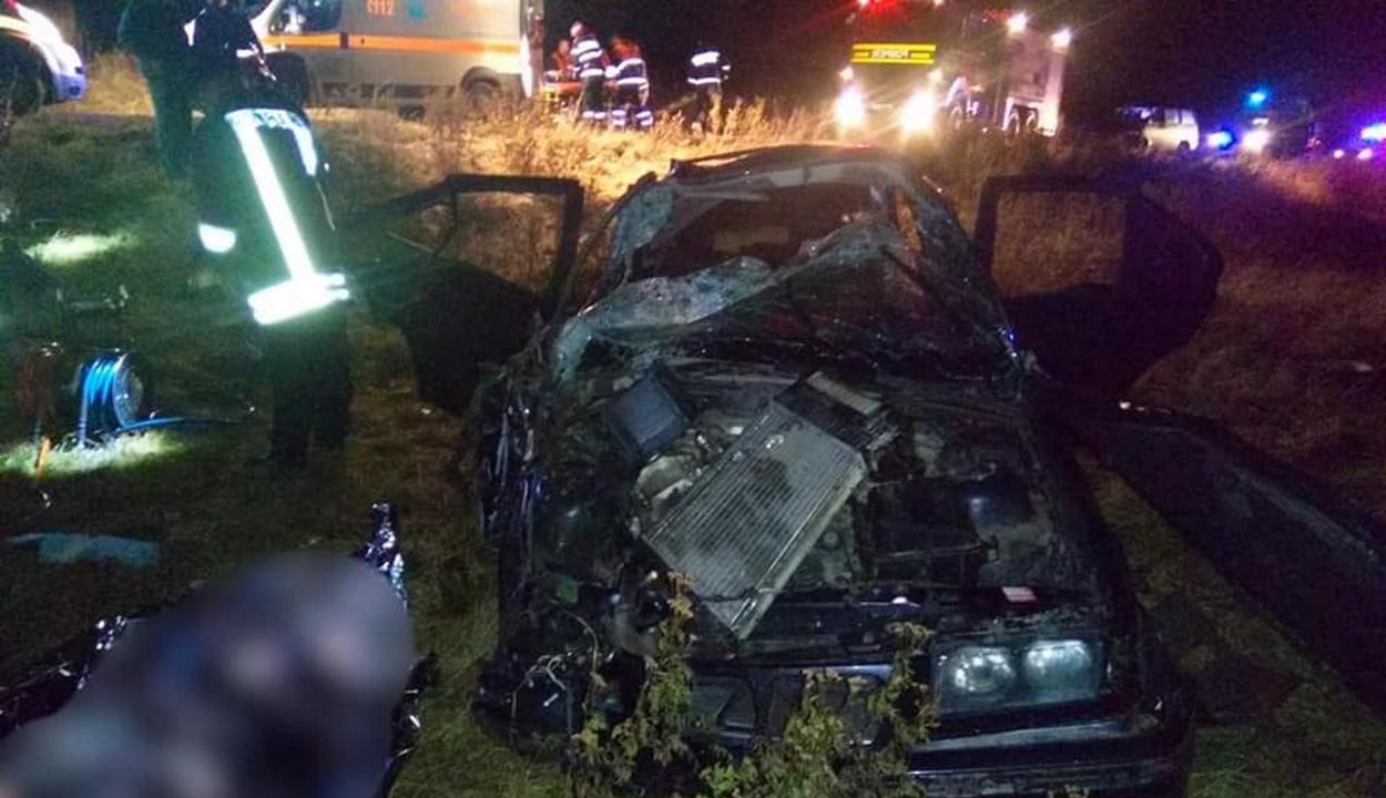 Halálos baleset Ozsdola közelében