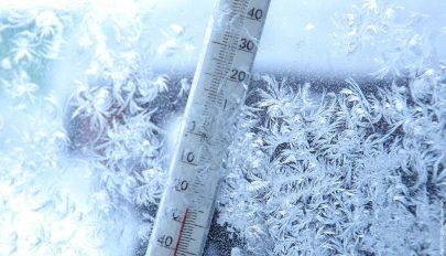 Rendkívül hidegre, dérre és talaj menti fagyra figyelmeztetnek a meteorológusok