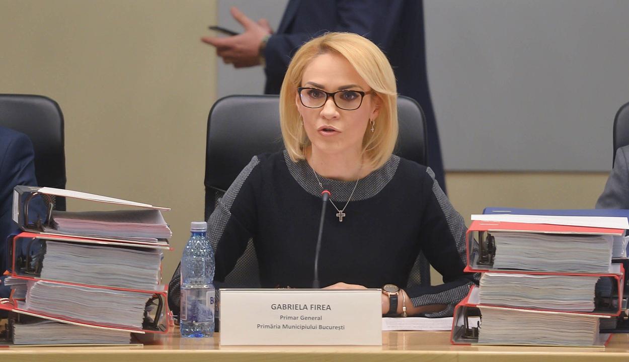 Távozik Gabriela Firea a PSD bukaresti szervezetének éléről