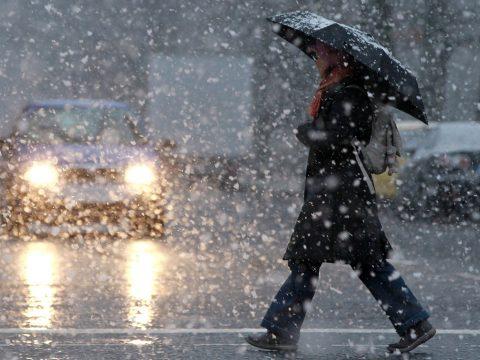 Havazásra, hóviharokra, jegesedésre figyelmeztetnek a meteorológusok
