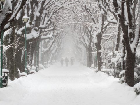 Megérkezett a tél az országba