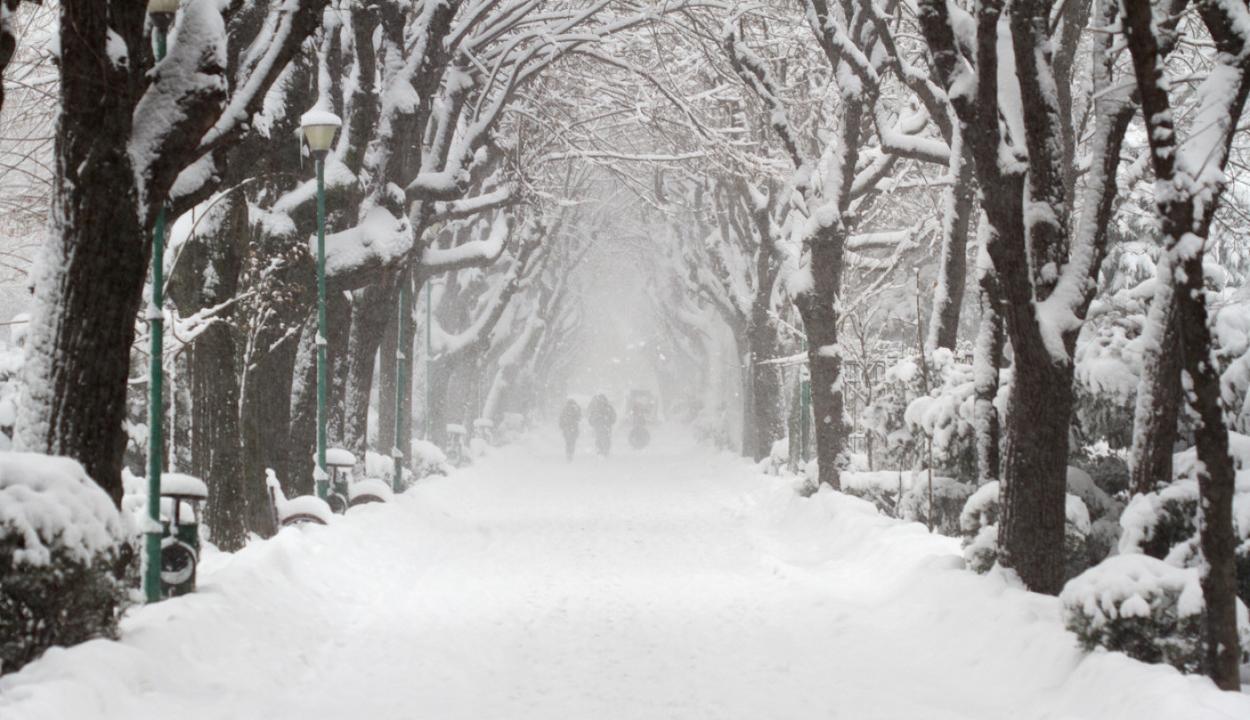 Visszatér a tél: havazás és hóvihar várható az ország 24 megyéjében