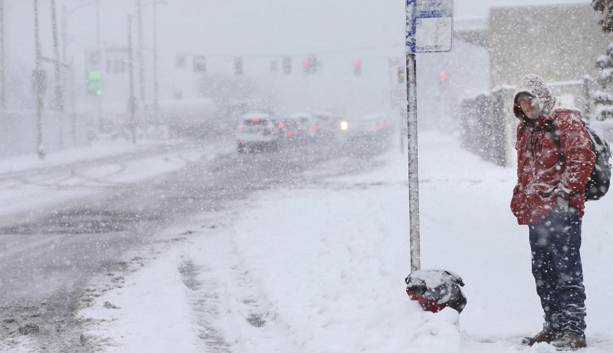 Meglepte New York-ot a novemberi havazás