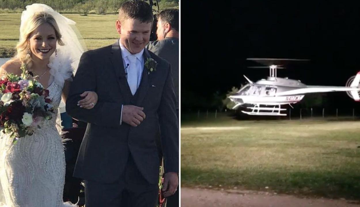 Esküvőjük után 90 perccel halt meg egy amerikai pár