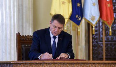 Az államfő kihirdette a költségvetési törvényt