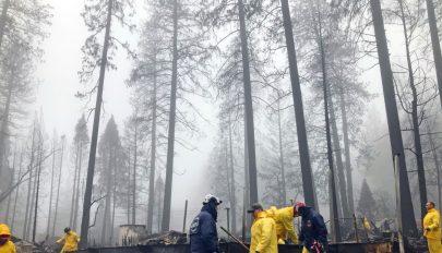 Kaliforniában mindenütt sikerült megfékezni a tűzvészt