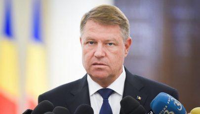 Johannis: Romániában olyanok hoznak törvényeket, akik ellen bűnvádi eljárás indult