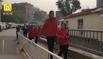 11 évesen már 210 centi magas egy kínai lány