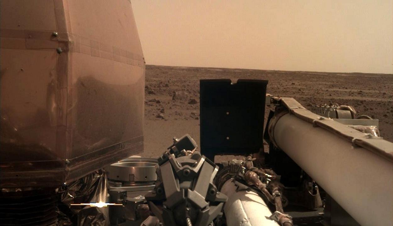 Sikeresen landolt a Marson a NASA űrszondája