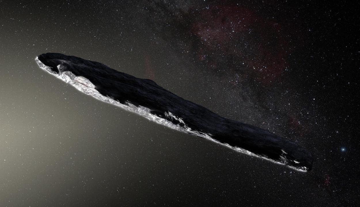 Idegenek alkotta objektum haladhatott át a Naprendszeren