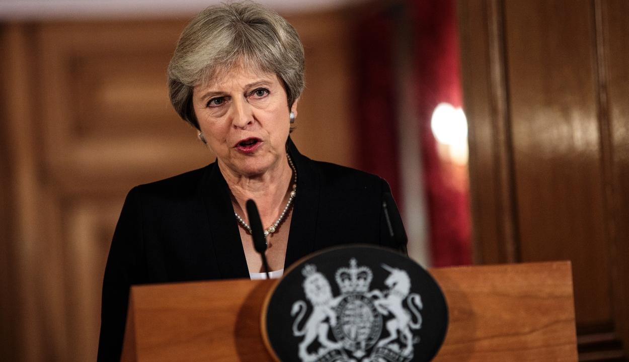 """Theresa May: """"én viszem végig a Brexit-folyamatot"""""""