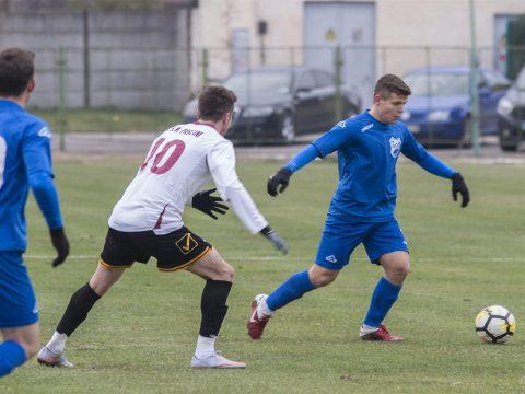 Kurtuly góljával nyert a KSE focicsapata