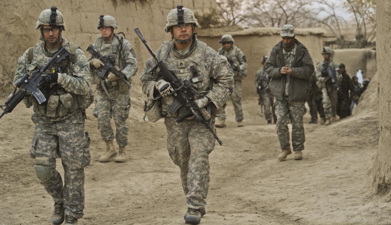 Szeptember 11-ig kivonulnak Afganisztánból az amerikai csapatok