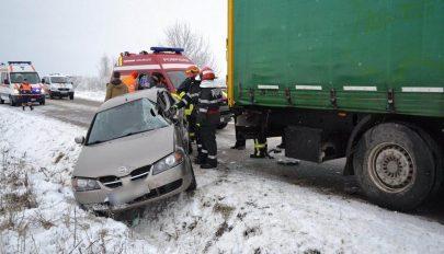 Három baleset néhány óra alatt