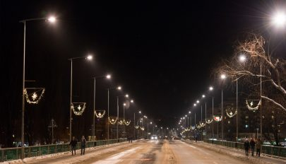Panasz a karácsonyi világításra