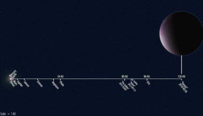 Felfedezték a Naprendszer legtávolabbi, ismert objektumát